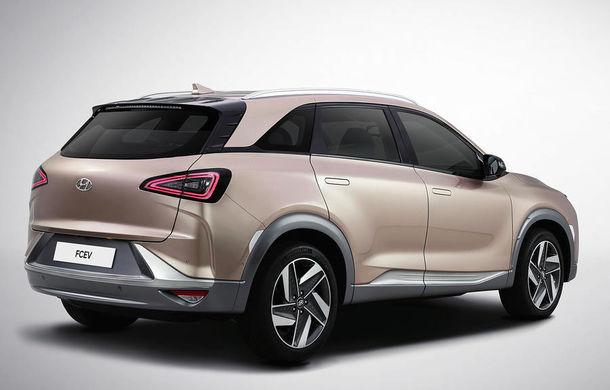 Autonomie de 800 de kilometri pe hidrogen: Hyundai prezintă un concept SUV electric în Las Vegas - Poza 7