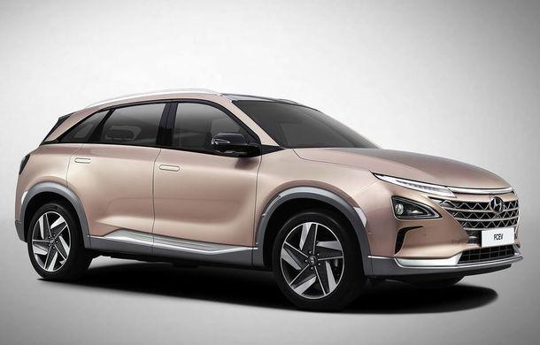 Autonomie de 800 de kilometri pe hidrogen: Hyundai prezintă un concept SUV electric în Las Vegas - Poza 2