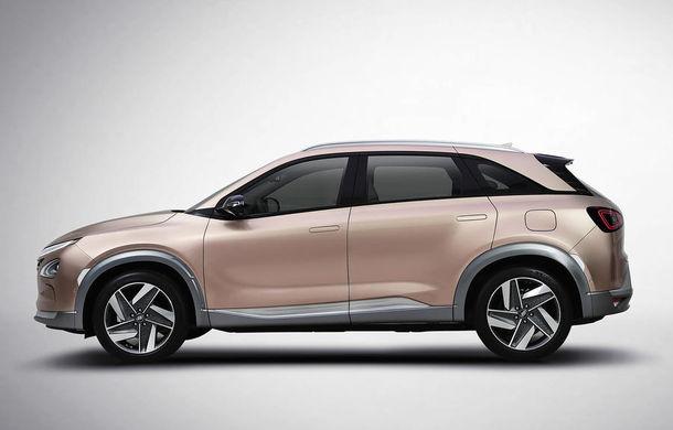 Autonomie de 800 de kilometri pe hidrogen: Hyundai prezintă un concept SUV electric în Las Vegas - Poza 5