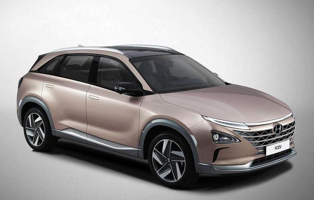 Autonomie de 800 de kilometri pe hidrogen: Hyundai prezintă un concept SUV electric în Las Vegas - Poza 3