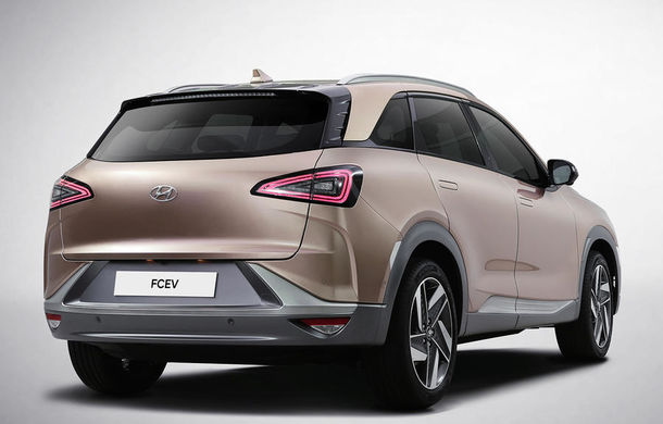 Autonomie de 800 de kilometri pe hidrogen: Hyundai prezintă un concept SUV electric în Las Vegas - Poza 6