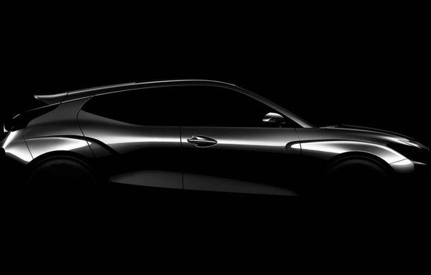 Prima schiță cu interiorul noii generații Hyundai Veloster: modelul constructorului asiatic ar putea debuta la Detroit - Poza 1
