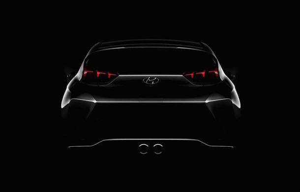Prima schiță cu interiorul noii generații Hyundai Veloster: modelul constructorului asiatic ar putea debuta la Detroit - Poza 3