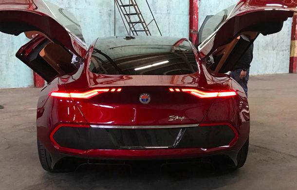 Imagini noi cu Fisker Emotion: mașina electrică cu încărcare în 9 minute, dezvăluită înaintea lansării oficiale - Poza 3