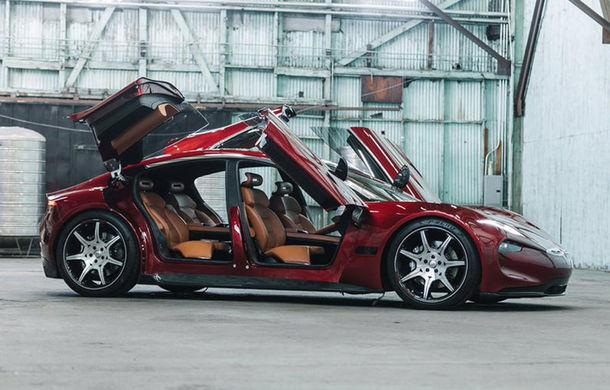 Imagini noi cu Fisker Emotion: mașina electrică cu încărcare în 9 minute, dezvăluită înaintea lansării oficiale - Poza 1