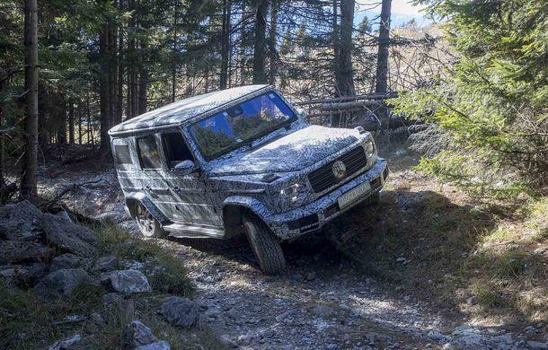 Fotografii din timpul testelor: noua generație Mercedes-Benz Clasa G va avea un mod special pentru momentele dificile din off-road - Poza 1