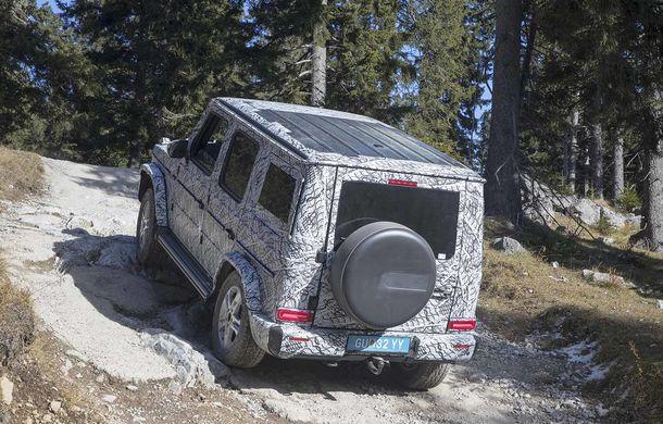 Fotografii din timpul testelor: noua generație Mercedes-Benz Clasa G va avea un mod special pentru momentele dificile din off-road - Poza 10
