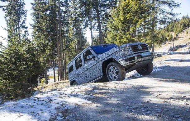 Fotografii din timpul testelor: noua generație Mercedes-Benz Clasa G va avea un mod special pentru momentele dificile din off-road - Poza 3
