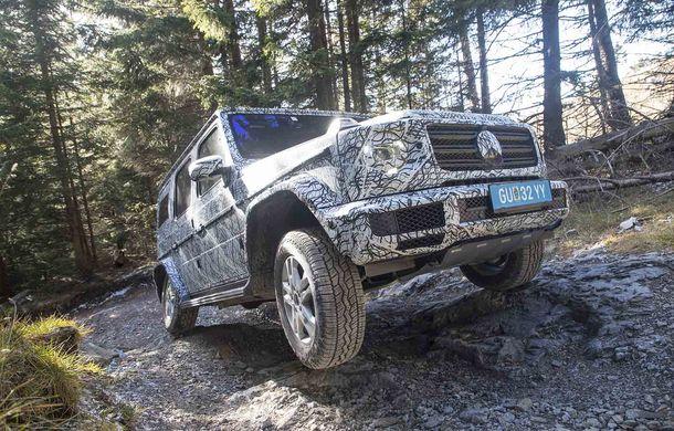 Fotografii din timpul testelor: noua generație Mercedes-Benz Clasa G va avea un mod special pentru momentele dificile din off-road - Poza 6