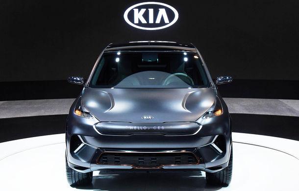 Kia Niro EV Concept a fost prezentat oficial: SUV-ul electric are o autonomie de peste 380 de kilometri și un interior cu tehnologii moderne - Poza 1