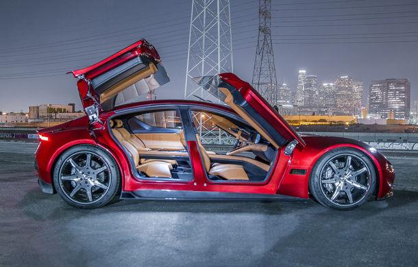 Fisker EMotion este oficial: autonomie de 650 km și sistem tracțiune integrală. Lansarea pe piață, programată în 2019 - Poza 12