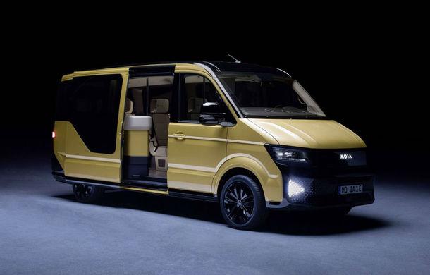 Shuttle-ul electric Moia va fi primul vehicul Volkswagen care va primi sisteme autonome avansate - Poza 1