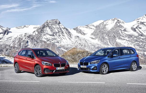 Facelift pentru BMW Seria 2 Active Tourer și Seria 2 Gran Tourer: mici îmbunătățiri exterioare și introducerea transmisiei cu șapte trepte și dublu ambreiaj - Poza 1