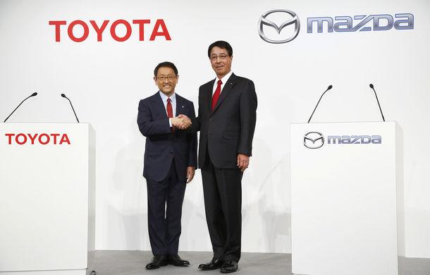 Toyota și Mazda vor construi o fabrică în SUA: investiție de 1.6 miliarde de dolari - Poza 1