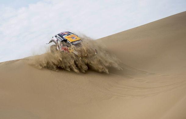 """Prima zi de pauză în Raliul Dakar: Peugeot domină cea mai dură competiție de rally-raid din lume cu ajutorul lui Stephane """"Mr. Dakar"""" Peterhansel - Poza 6"""