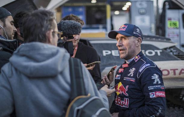 """Prima zi de pauză în Raliul Dakar: Peugeot domină cea mai dură competiție de rally-raid din lume cu ajutorul lui Stephane """"Mr. Dakar"""" Peterhansel - Poza 17"""
