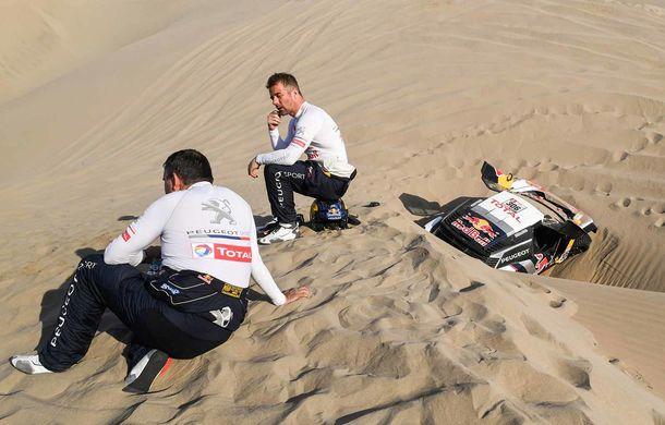 """Prima zi de pauză în Raliul Dakar: Peugeot domină cea mai dură competiție de rally-raid din lume cu ajutorul lui Stephane """"Mr. Dakar"""" Peterhansel - Poza 13"""