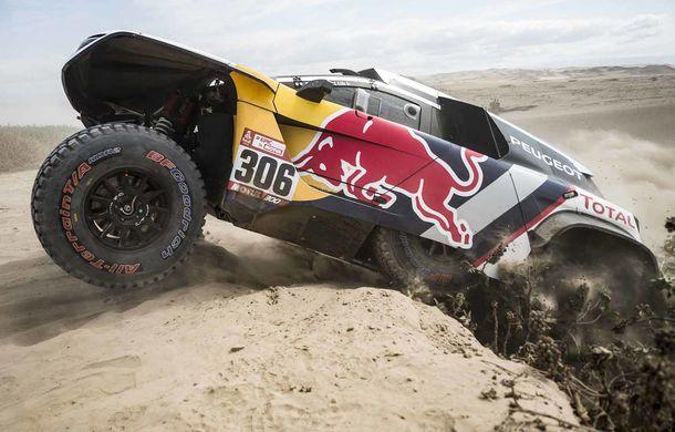 """Prima zi de pauză în Raliul Dakar: Peugeot domină cea mai dură competiție de rally-raid din lume cu ajutorul lui Stephane """"Mr. Dakar"""" Peterhansel - Poza 10"""