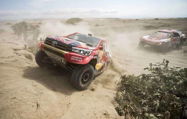 """Prima zi de pauză în Raliul Dakar: Peugeot domină cea mai dură competiție de rally-raid din lume cu ajutorul lui Stephane """"Mr. Dakar"""" Peterhansel - Poza 8"""