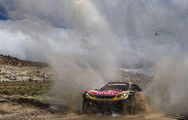 """Prima zi de pauză în Raliul Dakar: Peugeot domină cea mai dură competiție de rally-raid din lume cu ajutorul lui Stephane """"Mr. Dakar"""" Peterhansel - Poza 14"""