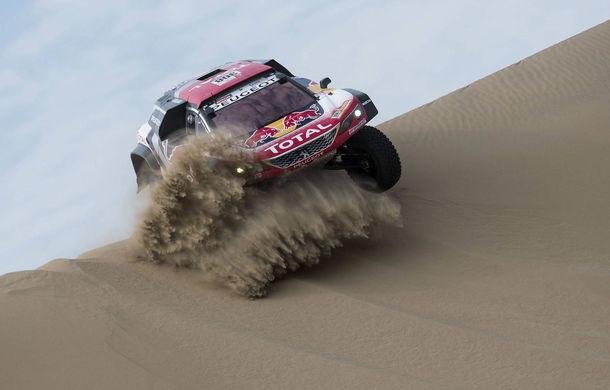 """Prima zi de pauză în Raliul Dakar: Peugeot domină cea mai dură competiție de rally-raid din lume cu ajutorul lui Stephane """"Mr. Dakar"""" Peterhansel - Poza 5"""