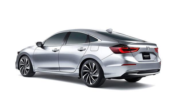 Atac la Prius și Ioniq: hibridul Honda Insight va fi resuscitat în 2018 într-o formă mult îmbunătățită - Poza 2