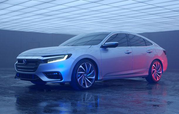Atac la Prius și Ioniq: hibridul Honda Insight va fi resuscitat în 2018 într-o formă mult îmbunătățită - Poza 7