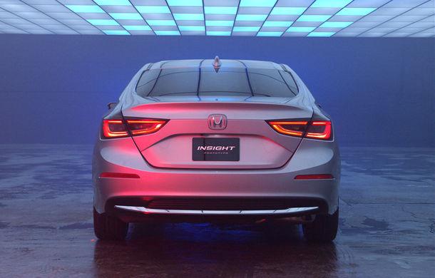 Atac la Prius și Ioniq: hibridul Honda Insight va fi resuscitat în 2018 într-o formă mult îmbunătățită - Poza 11