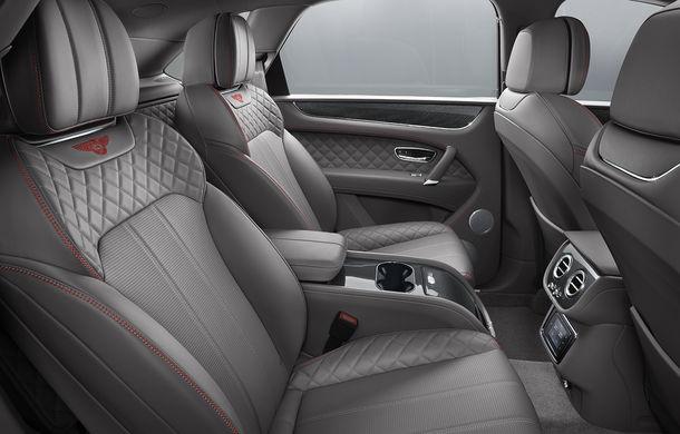 SUV-ul Bentley Bentayga primește un motor V8 pe benzină: 550 de cai putere și viteză maximă de 290 km/h - Poza 10