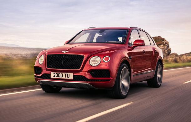 SUV-ul Bentley Bentayga primește un motor V8 pe benzină: 550 de cai putere și viteză maximă de 290 km/h - Poza 1