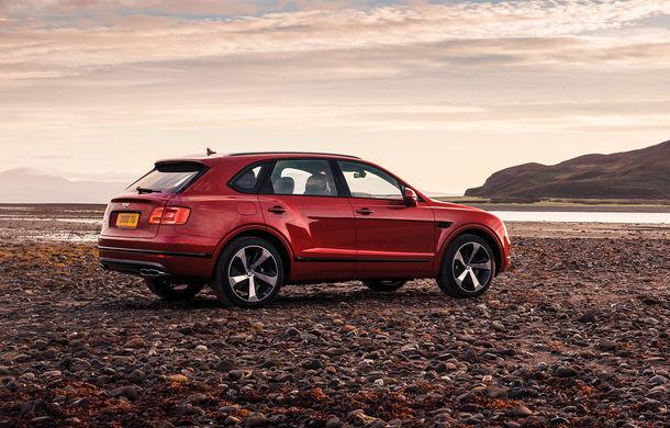 SUV-ul Bentley Bentayga primește un motor V8 pe benzină: 550 de cai putere și viteză maximă de 290 km/h - Poza 6