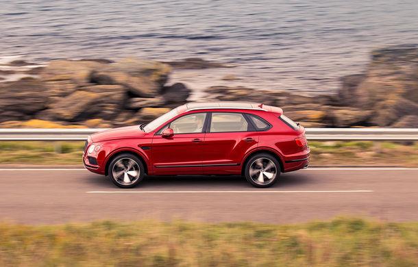 SUV-ul Bentley Bentayga primește un motor V8 pe benzină: 550 de cai putere și viteză maximă de 290 km/h - Poza 7
