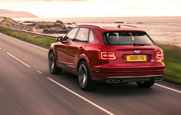 SUV-ul Bentley Bentayga primește un motor V8 pe benzină: 550 de cai putere și viteză maximă de 290 km/h - Poza 4