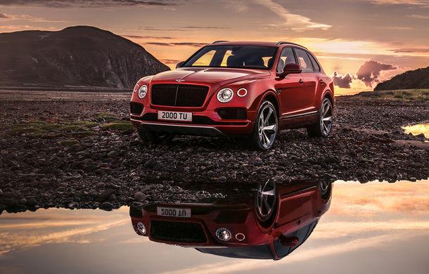 SUV-ul Bentley Bentayga primește un motor V8 pe benzină: 550 de cai putere și viteză maximă de 290 km/h - Poza 2