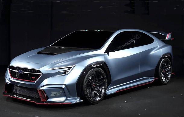 Subaru Viziv Performance STI: conceptul care anticipează lansarea lui WRX STI a fost dezvăluit oficial - Poza 1