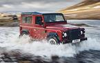 În așteptarea noii generații: Land Rover lansează o ediție limitată Defender Works V8 cu motor de 5.0 litri și 405 CP