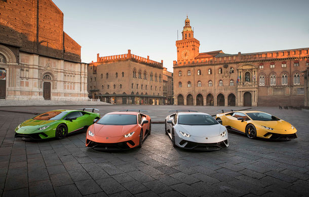 Lamborghini în 2017: italienii au vândut 3.815 supercaruri, iar peste 1.000 au ajuns în SUA - Poza 1