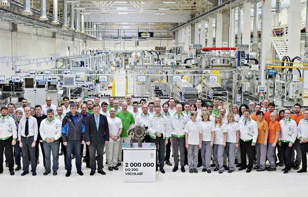 Skoda a produs 2 milioane de transmisii DSG cu șapte trepte în cadrul fabricii din Vrchlabi: cehii asamblează zilnic 2.200 de unități - Poza 1