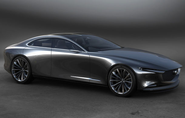Mazda a trecut de Lamborghini și Mercedes-AMG: prototipul Vision Coupe a fost desemnat cel mai frumos concept al anului - Poza 1