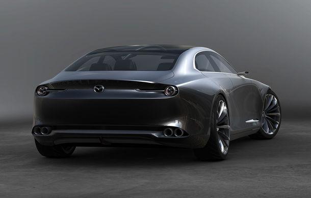 Mazda a trecut de Lamborghini și Mercedes-AMG: prototipul Vision Coupe a fost desemnat cel mai frumos concept al anului - Poza 7