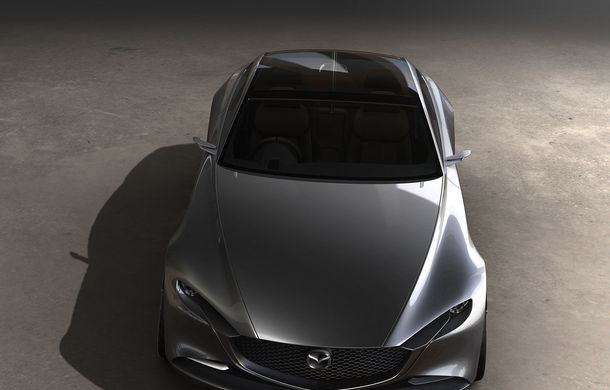 Mazda a trecut de Lamborghini și Mercedes-AMG: prototipul Vision Coupe a fost desemnat cel mai frumos concept al anului - Poza 4