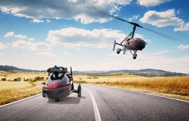 Prima mașină zburătoare de serie se lansează în martie: Pal-V Liberty poate călători 500 de kilometri prin aer - Poza 1