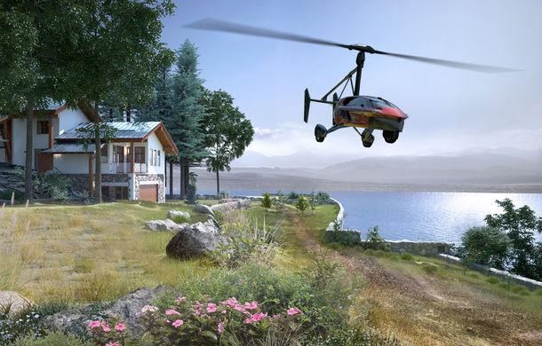 Prima mașină zburătoare de serie se lansează în martie: Pal-V Liberty poate călători 500 de kilometri prin aer - Poza 2