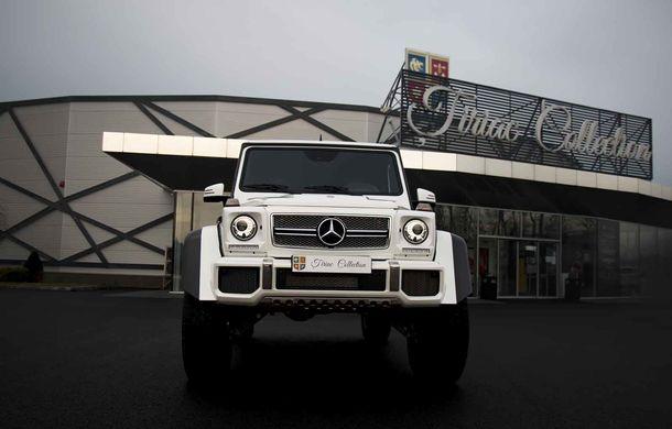 Un Mercedes-Maybach G650 Landaulet a ajuns în România: exemplarul poate fi admirat în cadrul galeriei Țiriac Collection - Poza 2