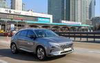 Hyundai a testat noul model pe hidrogen Nexo cu funcții autonome: mașina a mers singură pe autostradă aproape 200 de kilometri cu 110 km/h