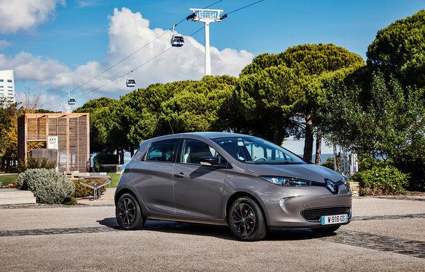 Renault Zoe ar putea veni la Geneva într-o variantă mai puternică: motorul electric al compactei franceze ar urma să primească 16 CP în plus - Poza 1