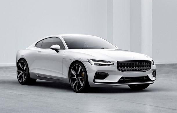 Volvo se gândește să mărească producția pentru primul său model sub brandul Polestar: cele 500 de unități prevăzute inițial nu sunt suficiente pentru cererea ridicată - Poza 1
