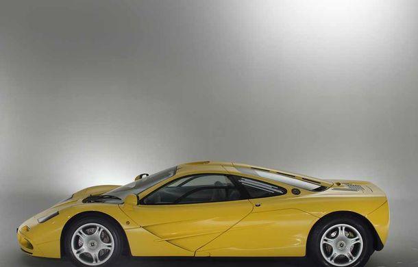 Singurul McLaren F1 încă neînmatriculat a fost vândut în Anglia. Produsă în 1997, mașina avea încă foliile de protecție la interior - Poza 8