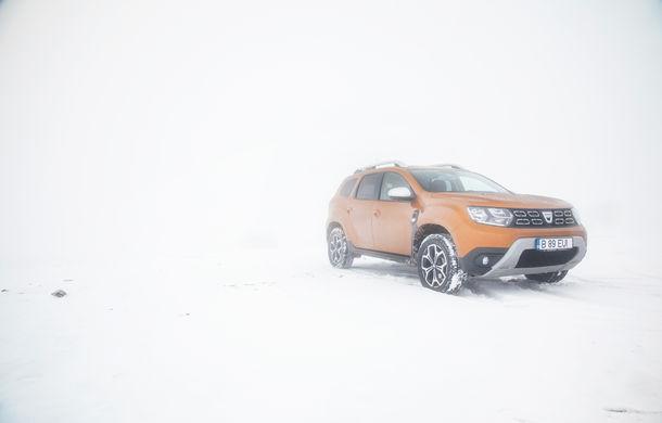 Cu noul Duster în creierii munților: ploaie, ceață, zăpadă și povestea de dragoste descoperită la Cabana Muntele Mic - Poza 39