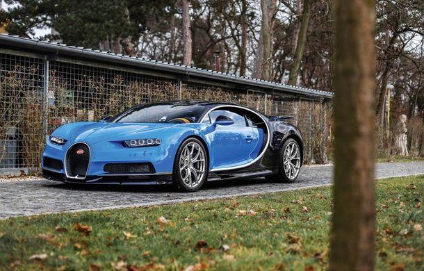 Un exemplar Bugatti Chiron a fost vândut cu 3.2 milioane de euro la o licitație: hipercarul are sub 1.000 de kilometri la bord - Poza 1